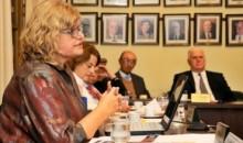 La ministra Balagué presentó las políticas educativas santafesinas en la Academia Nacional de Educación