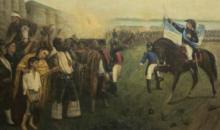 """20 de Junio 1820-2021. """"QUE LA BANDERA NO TAPE EL CIELO"""" ."""