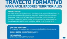 TRAYECTO FORMATIVO PARA FACILITADORES TERRITORIALES