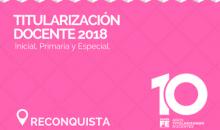 Ofrecimiento 2018 – RECONQUISTA