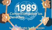 """""""31 AÑOS DE LA APROBACIÓN DE LOS DERECHOS DE  LA NIÑEZ"""""""