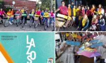 #SanGenaro: Bicicleteada interinstitucional