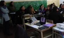 """#Santa Fe: Actividad en la EESO N° 511 """"Juana Azurduy"""""""