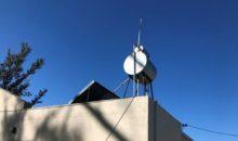 Instalación de termotanque solar en la planta campamentil LA MARAVITA (Humberto 1°)