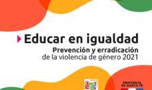 Jornada Nacional «Educar en Igualdad: Prevención y Erradicación de la Violencia contra la Mujer»