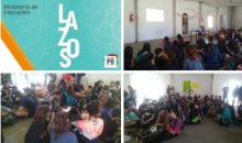 #SantoTome: Taller de prevención y concientización sobre el consumo de sustancias en la escuela  Nº 322
