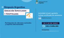 Simposio Nacional de Educación Domiciliaria y Hospitalaria